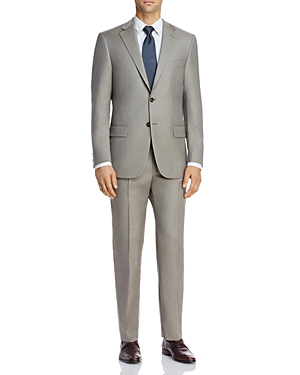 New York Solid Classic Fit Suit