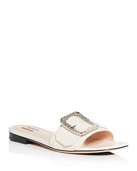 Bally - Women's Janna Crystal Slide Sandals