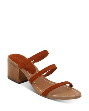 Splendid Women\\\'s Meli Strappy Mid-Heel Sandals