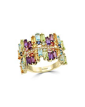 Bloomingdale's - Multi-Gemstone & Diamond Statement Ring in 14K Yellow Gold - 100% Exclusive