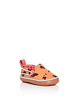TOMS - Unisex Lima Stone Age Animal Print Slip-On Sneakers - Baby