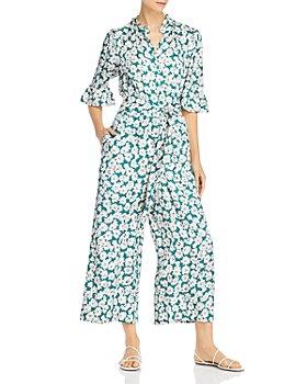 Rebecca Taylor - Serene Flower Silk-Blend Jumpsuit