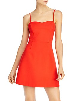 FRENCH CONNECTION - Tie-Back Mini Dress