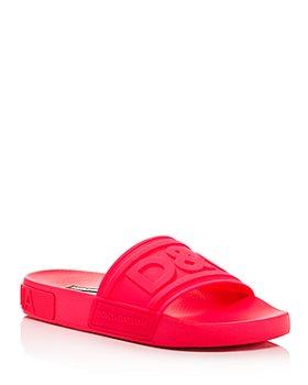 Dolce & Gabbana - Women's Slide Sandals