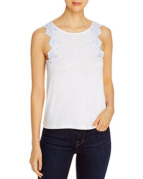 Design History - Eyelet-Trim Tank Top