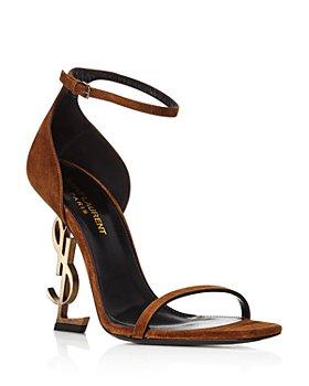 Saint Laurent - Women's Opyum Logo High Heel Sandals