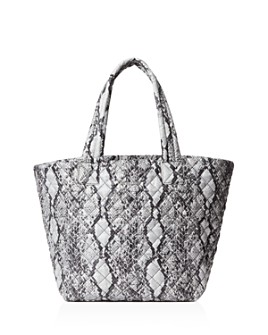 MZ WALLACE - Animal-Print Medium Metro Tote