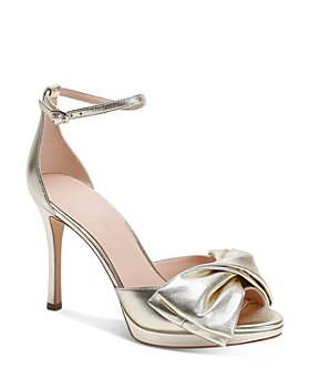 kate spade new york - Women's Bridal Bow High-Heel Sandals