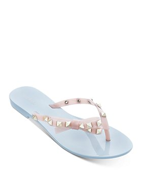 Melissa - Women's Harmonic Studded Thong Sandals