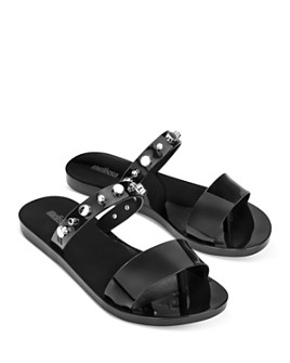 Melissa - Women's Love Lip II Slip On Sandals