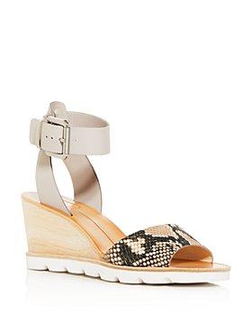 Dolce Vita - Women's Melika Snake-Embossed Wedge Sandals