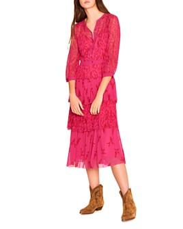 ba&sh - Morris Floral-Print Midi Dress