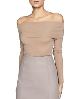 REISS - Tima Off-The-Shoulder Jumper