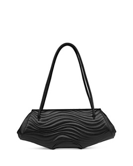 Behno - Elizabeth Quilted Leather Baugette Shoulder Bag