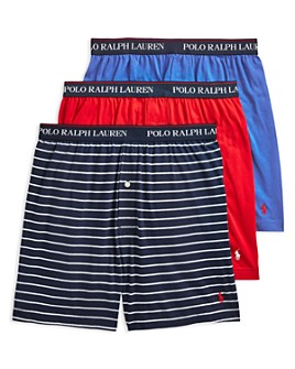 Polo Ralph Lauren - Classic Fit Knit Boxers - Pack of 3