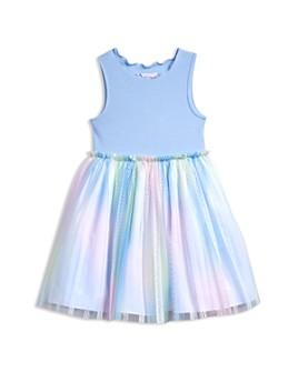 Pippa & Julie - Girls' Rainbow-Skirt Dress - Little Kid