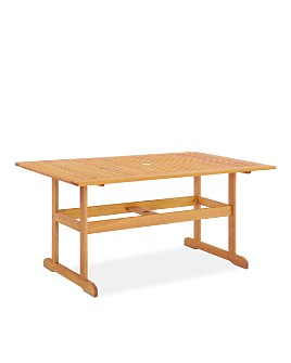 Modway - Modway Hatteras Outdoor Patio Eucalyptus Wood Dining Collection