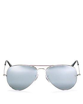 Ray-Ban - Unisex Original Brow-Bar Aviator Sunglasses, 58mm