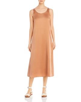 Eileen Fisher - Scoop-Neck Shift Dress