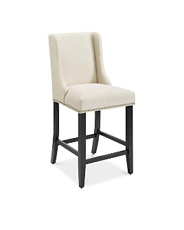Modway - Baron Upholstered Fabric Counter Stool