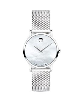 Movado - Museum Mesh Bracelet Watch, 28mm
