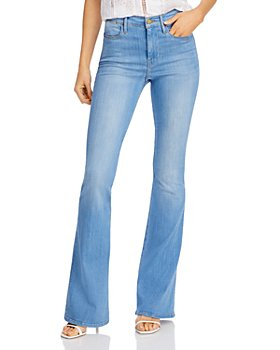 FRAME - Le High Flare-Leg Jeans in Colima