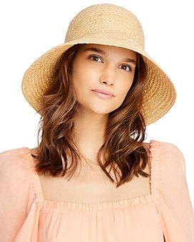 AQUA - Raffia Bucket Hat