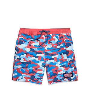 Vineyard Vines Boys' Camo Print Chappy Swim Trunks - Little Kid, Big Kid