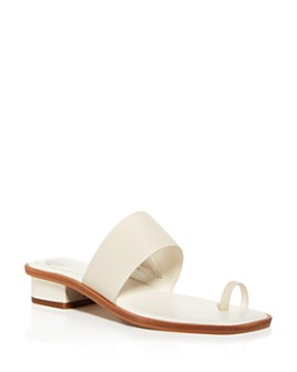 VINCE CAMUTO - Women's Yelinda Low-Heel Sandals