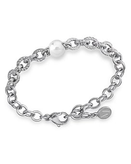 Majorica - Faux-Pearl Link Bracelet