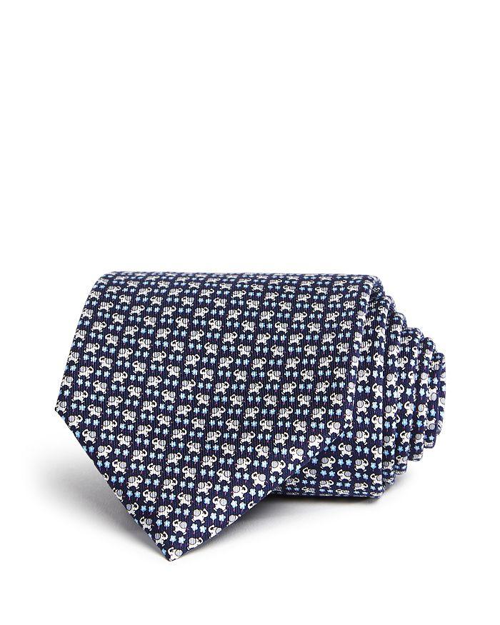 Salvatore Ferragamo - Simba Elephant Silk Classic Tie