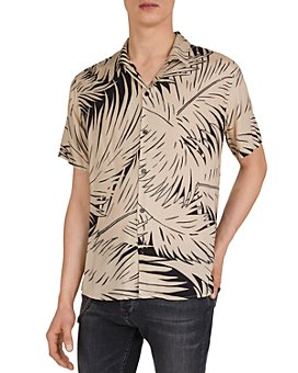 The Kooples - Abstract Palms Shirt
