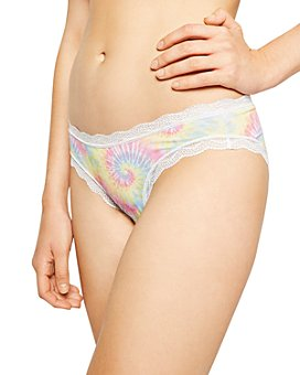 Stripe and Stare - Tie-Dyed Low-Rise Brief