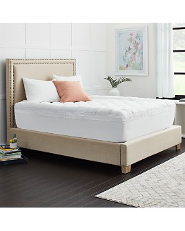 Sealy - 3+1 Memory Foam Mattress Topper with Fiber Fill Cover