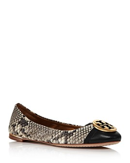 Tory Burch - Women's Minnie Cap-Toe Ballet Flats