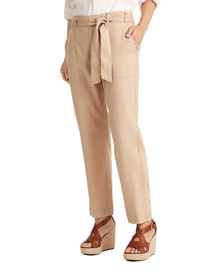 Ralph Lauren - Linen Straight-Leg Pants