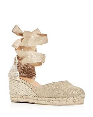 Castaner Women's Carina Espadrille Wedge Sandals