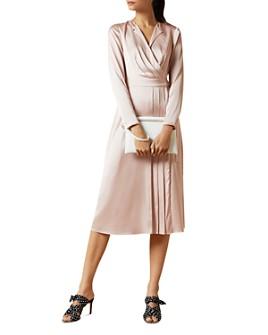 Ted Baker - Neenha Pleated Wrap Dress