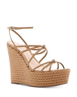 SCHUTZ - Women's Flassie Strappy Espadrille Platform Wedge Sandals