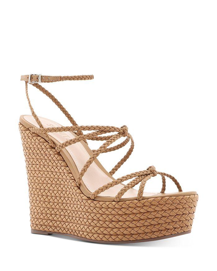 SCHUTZ - Women's Flassie Strappy Espadrille Platform Wedge Sandals
