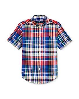 Ralph Lauren - Boys' Madras Shirt - Big Kid