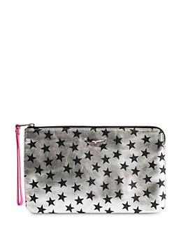 Zadig & Voltaire - Uma Circus Stars Leather ZV Clutch