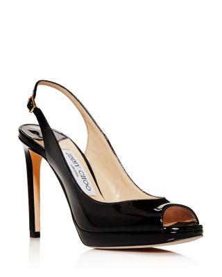 Satin Diamante Silver Black Peeptoe Kitten Heel Wedding Party Shoes UK 3 4 5 7.5