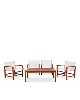 SAFAVIEH - Mardin 5-Piece Indoor/Outdoor Dining Set
