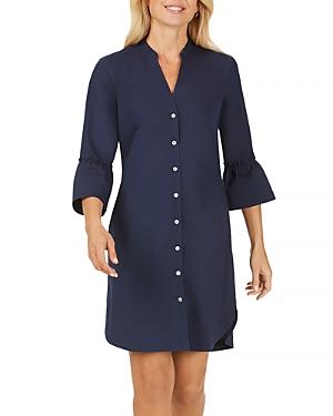 Foxcroft Nolan Bell-Sleeve Shirt Dress-Women