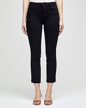 L\\\'Agence Sada Cropped Straight Jeans-Women