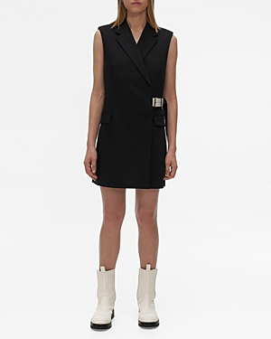 Helmut Lang BELTED VEST MINI DRESS
