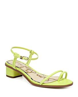 Sam Edelman - Women's Isle Toe Ring Mid Heel Sandals