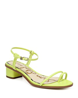 Sam Edelman - Women's Isle Toe Ring Mid Heel Sandals