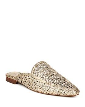 Sam Edelman - Women's Elva Pointed Toe Slide Flats